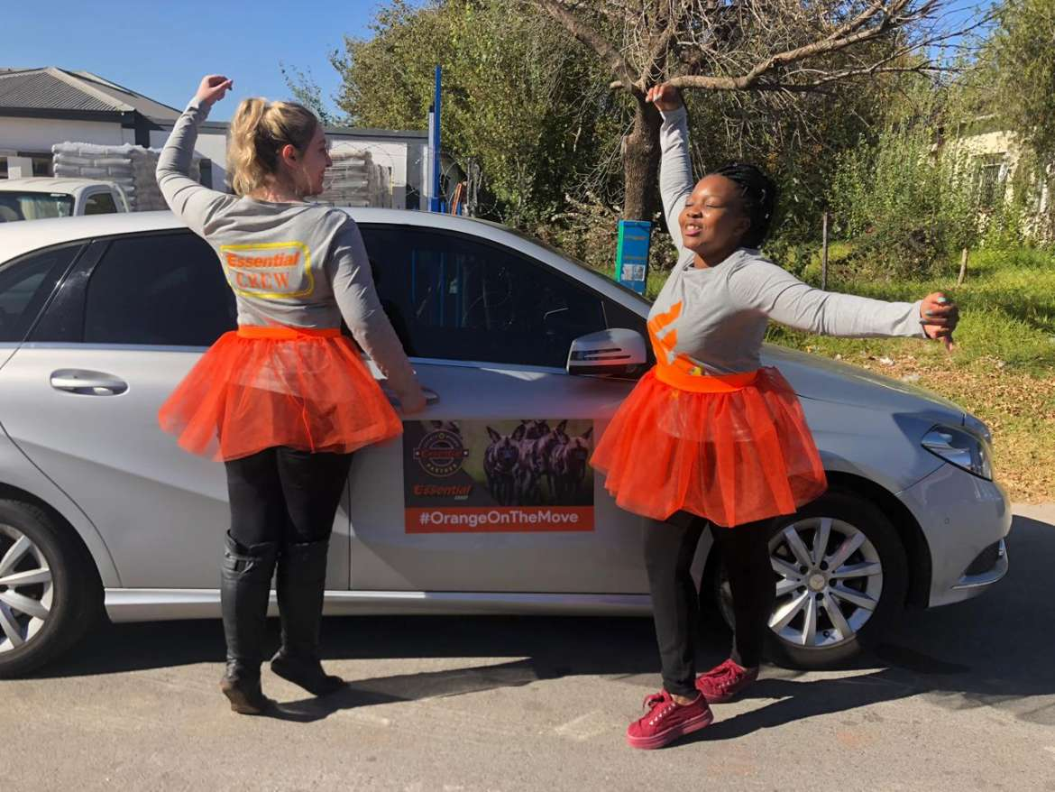 #Orangeonthemove road trip to Cape Town 6 Essential Group